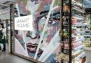Supermarché, centre commercial, boutique, magasin, commerce: affichage PLV SMART FRAME